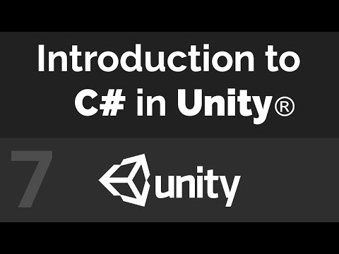 Unity C# Beginner Tutorial - For Loops with Arrays (Part 07)