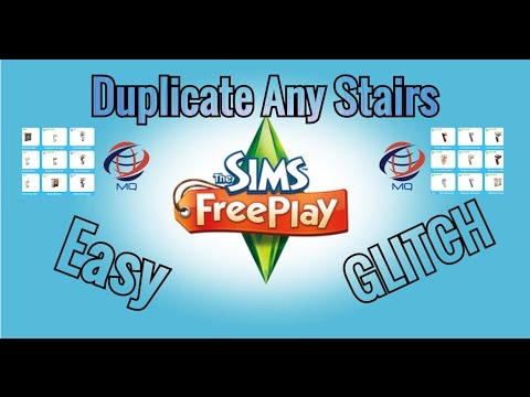 How to Duplicate Any Stairs | 2016 | The Sims FreePlay V 5.23.1+