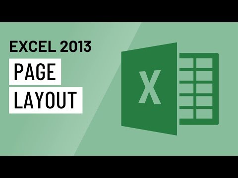 Excel 2013: Page Layout