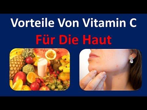 Nutzen von Vitamin C für die Haut | heilt Schaden wegen der Sonne &