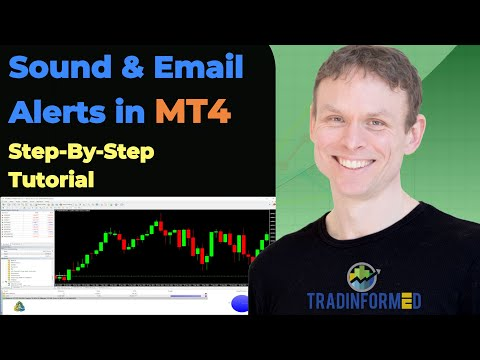 How to Set Up MT4 to get Sound and Email Trading Alerts
