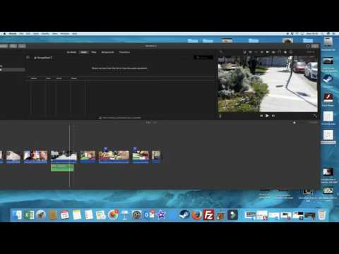 How to export audio from garage band for iMovie