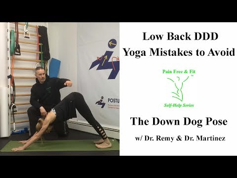 Degenerative Disc Disease Exercises to Avoid and Include for Low Back - Yoga Down Dog Mistakes