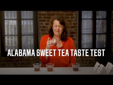 The Alabama Sweet Tea Taste Test