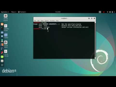 how to install windows software in kali linux