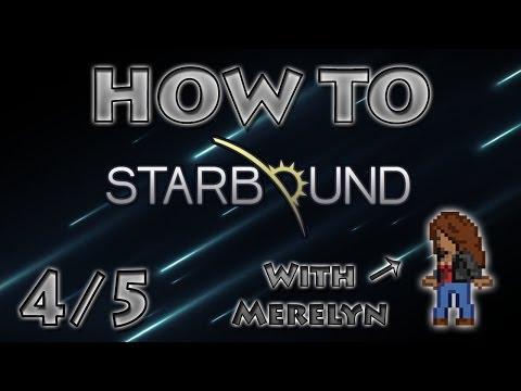 Starbound Gameplay 4/5 Village and 3D Printer!