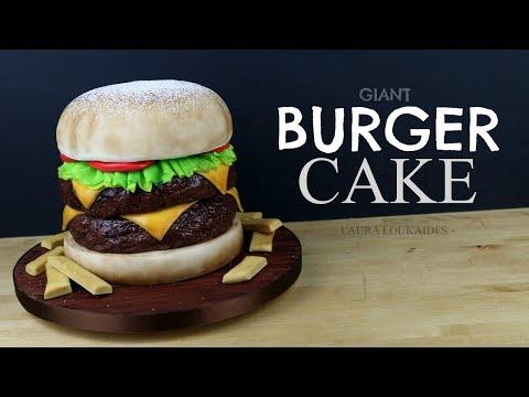 How to Make a Cheeseburger Cake - Laura Loukaides