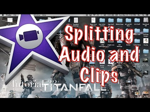 Splitting Clips and Audio in iMovie 10.0.2 | Tutorial 33