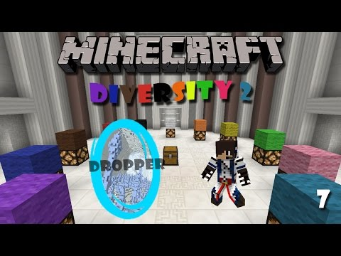 Minecraft Map : Diversity 2 (Part 7) - Dropper Branch