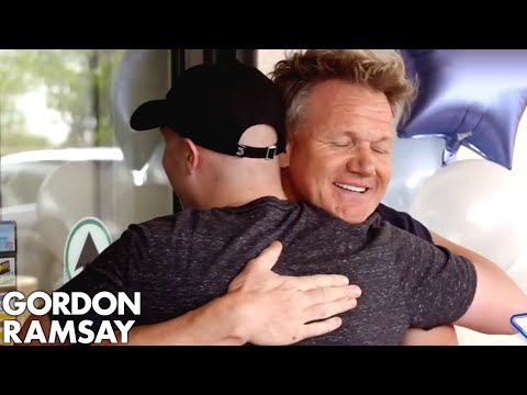 GORDON RAMSAY PARTNERS WITH MAKE-A-WISH TO CONFIRM 24 WISHES IN 24 HOURS