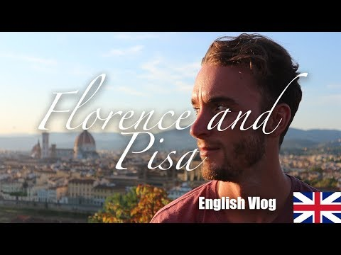 Vlog tour and tips to visit pisa end florence in one day