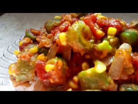 Southern Style Okra And Tomatoes Part 2