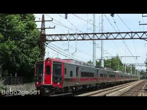 Metro-North New Haven & Amtrak Trains at East Norwalk, CT RR