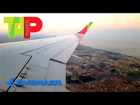 TAP Express  | Embraer E190 | Porto ✈ Madrid | Pushback, Taxi and Take Off