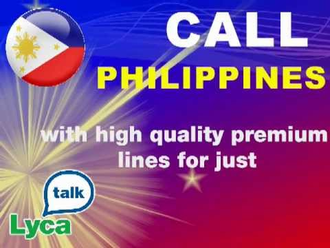 Lycamobile, cheap calls to Philippines, Philippines mobile calls, Philippines landline calls