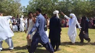Balochi dance at sindh University by mahir Baloch