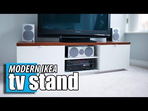 IKEA Byas TV Stand - DIY Wood Transformation Hack