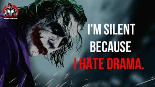 15 MOST POWERFULL MOTIVATIONAL QUOTES(Jokers Collection)    BADASS QUOTES