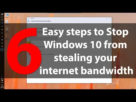6 Easy steps to stop Windows 10 from stealing your internet bandwidth