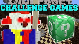 Minecraft: KILLER CLOWN CHALLENGE GAMES - Lucky Block Mod - Modded Mini-Game