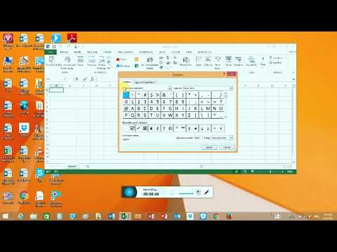How to insert Check box in Microsoft excel 2007,2010,2013 ,2016