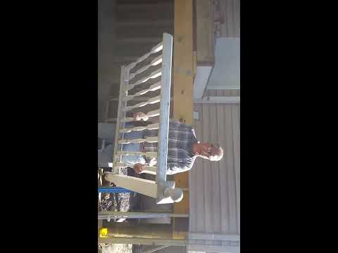 How to remove wood railings & posts