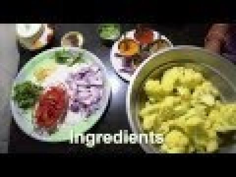 Simple gobi fry/ Hookos fry/ Cauliflower fry in kannada/ Gobi recipes