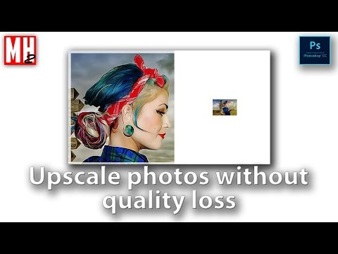 How to resize photos in Photoshop CC 2017 without losing quality