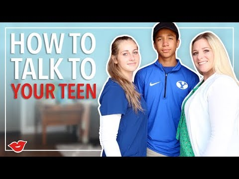 How To Talk To Your Teen! | Kimmy from Millennial Moms