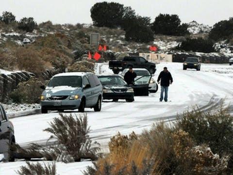 Icy storm causing travel headaches in Texas, Oklahoma