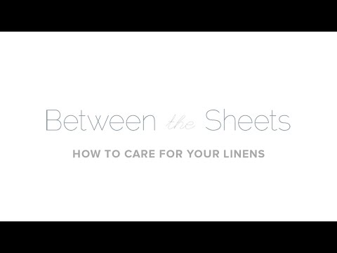 Episode 7 - How to Care for your Linens