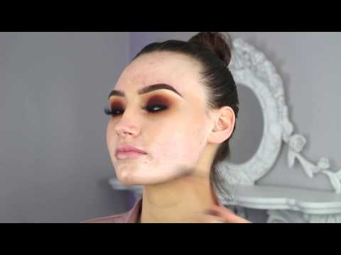 SUNSET -  (Blown Out Makeup Look)