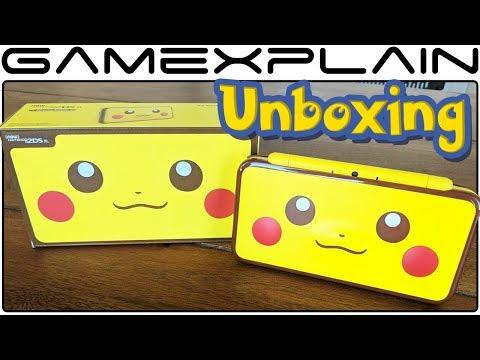 Pikachu Edition New Nintendo 2DS XL UNBOXING