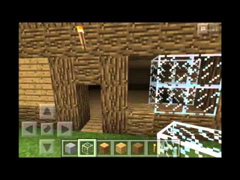 How to build a wooden house on minecraft pe 0.9.5