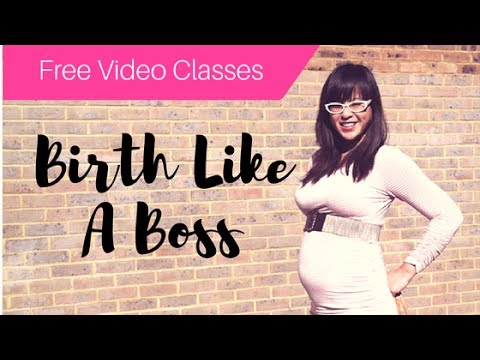 HYPNOBIRTH TUTORIAL CLASS#1 Birth Like A Boss HYPNOBIRTHING SERIES