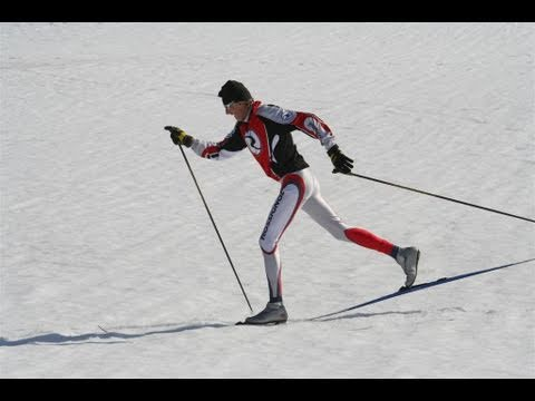 Cross or X Country Skiing- Basics of Diagonal Stride