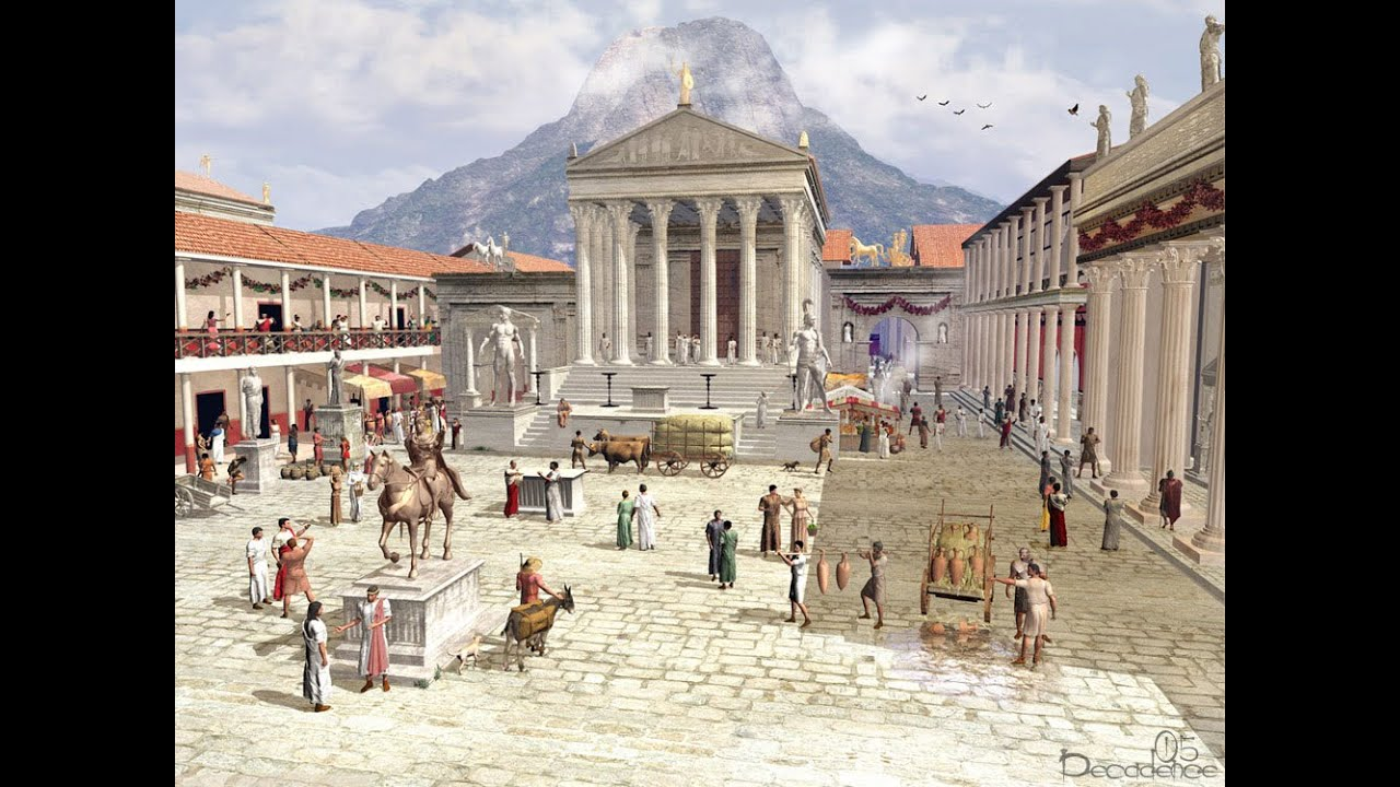 Pompeii Before and After