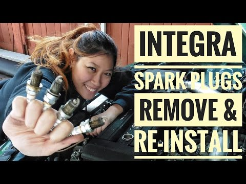 How to Remove & Re-install B18 Integra Spark Plugs (VLOG 8)