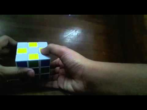 How to make a patten on rubik's cube