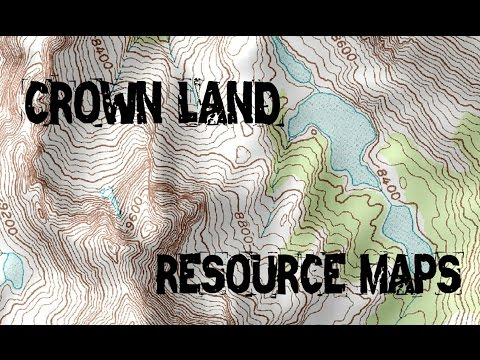 SHTF Resource Maps: Crown Land | Canadian Prepper