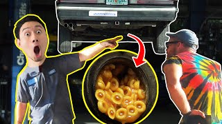Filling My Gas Tank with Spaghetti0s and Hiring a Mechanic to Fix it
