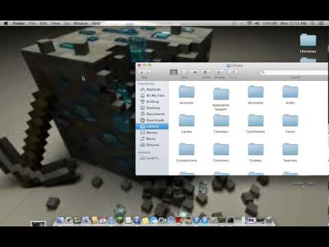 how to find your library folder on a mac os x