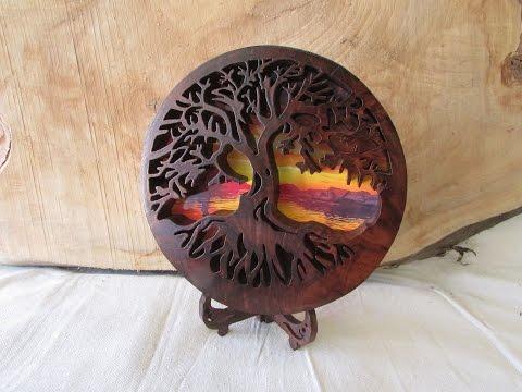 Tree of Life / Scroll Saw Art