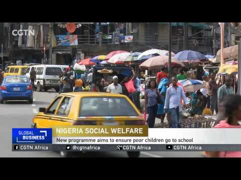 Nigerian government rolls out 1st national social-welfare program