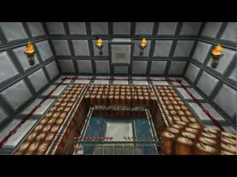 Player Safe TNT Cannon - Minecraft (Safe in Survival Mode)