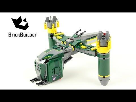 Lego Star Wars 7930 Bounty Hunter Assault Gunship - Lego Speed Build