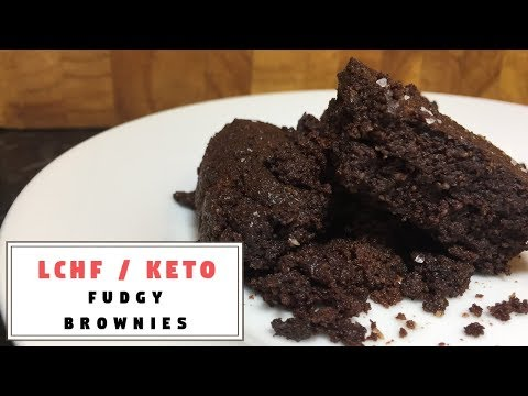 Fudgy Brownies [ONLY 5 INGREDIENTS] || The Keto Kitchen