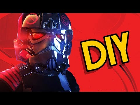 DIY Iden Versio Battlefront 2 TIE Fighter Helmet- Backyard FX