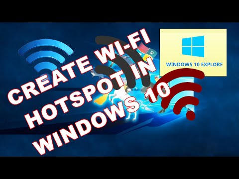 Create Wi-Fi Hotspot without Installing any Software in Windows 10 - Windows 10 Tips and Tricks