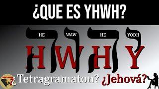 ¿Es Realmente Jehová el Nombre de Dios? ¿Qué es YHWH? ¿Tetragramaton? - Tengo Preguntas